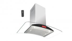 هود آشپزخانه آرکو (لمسی با پنل مشکی)