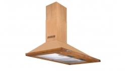 هود آشپزخانه شومینه 90 چهارگوش طرح چوب